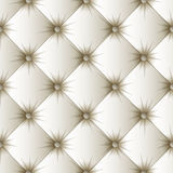White upholstery texture seamless pattern. White upholstery seamless pattern. Easy editable background color. Vector illustration Stock Image