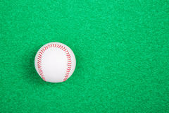 A white used baseball Stock Images