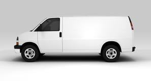 White van Stock Image