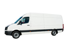 White Van Royalty Free Stock Images
