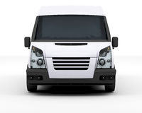 White van Royalty Free Stock Photography