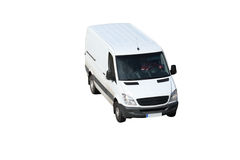 White van Royalty Free Stock Image