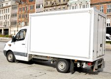 White van Stock Photography