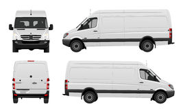 White van vector stock illustration
