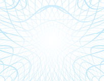White vector background with distorted grid Royalty Free Stock Photo