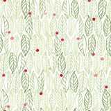 White pattern with leaves dots stock photo