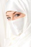 White veil stock images
