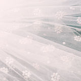 White veil background Royalty Free Stock Photography