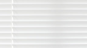 White venetian blind lifted Stock Photo