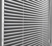 White venetian blinds. Stock Images
