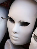 White Venetian mask Royalty Free Stock Photos