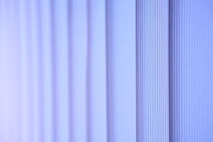 White vertical blinds. Abstract photo Royalty Free Stock Photos