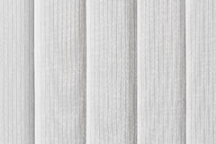 White vertical blinds Royalty Free Stock Images