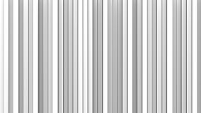 White vertical lines 3D render Stock Photography