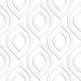 White vertical pointy ovals Royalty Free Stock Photography