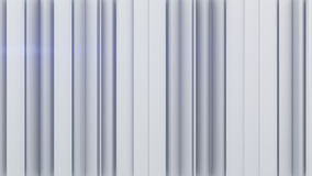 White vertical stripes 3D rendering Royalty Free Stock Image