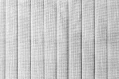 White vertical textile blinds texture Royalty Free Stock Photo