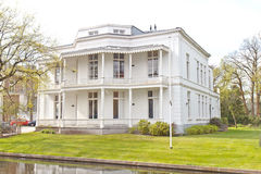 White Victorian House Stock Images