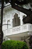 White villa. Quiet, calm and peaceful white villa Royalty Free Stock Images