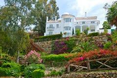 White villa Stock Images