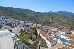 White village of Andalucia. Stock Image