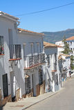 White village of Andalucia. Royalty Free Stock Images