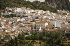 White village in andalusia Stock Photos