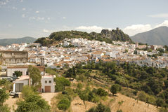 White village in andalusia Stock Photography