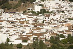 White village in andalusia Royalty Free Stock Images