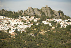 White village in andalusia Royalty Free Stock Image