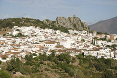 White village in andalusia Royalty Free Stock Photography