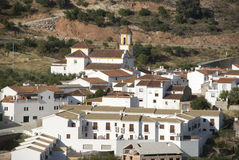White village in andalusia Stock Image