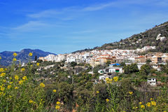 White village in Andalusia, Spain Royalty Free Stock Images