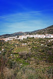White village in Andalusia, Spain Stock Photos