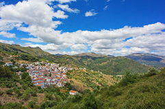 White village in Andalusia, Spain Stock Photo