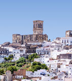 White village of Arcos Stock Image