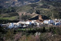 White village, Cadiar, Spain. Stock Photos