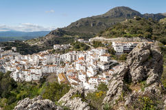 White village called casares Stock Photo