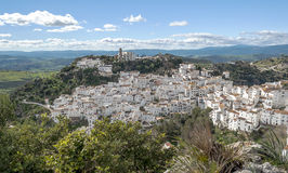 White village called casares Stock Images