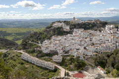 White village called casares Stock Photography
