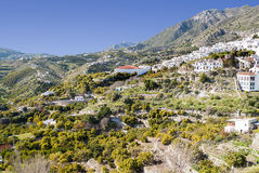 Mountains of Frigiliana Royalty Free Stock Image