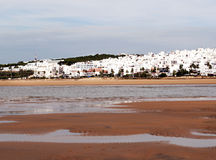 White village of Conil Royalty Free Stock Images