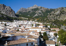 White Village of Grazalema Royalty Free Stock Photo