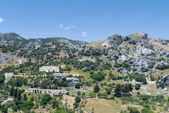 White village Grazalema Stock Image