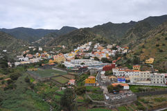 White village on La Gomera Stock Image