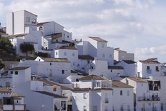 White village Mijas Royalty Free Stock Photos