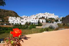 White village, Mojacar. Stock Images