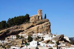 White village, Montefrio, Spain. Stock Photography