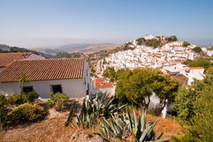 White village, Spain Royalty Free Stock Images