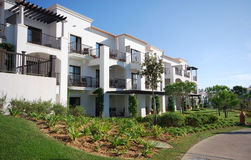 White villas Royalty Free Stock Images